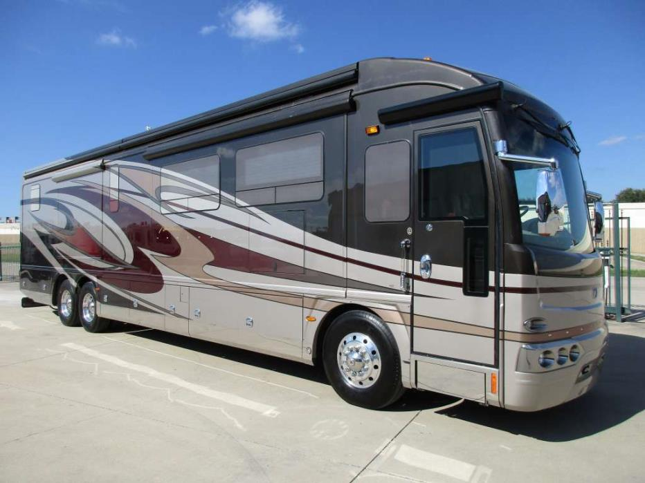 2011 American Coach American Heritage Full Wall Slide Bath 1/2 650hp