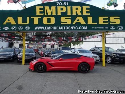 2014 Chevy Corvette Stingray 1LT Coupe