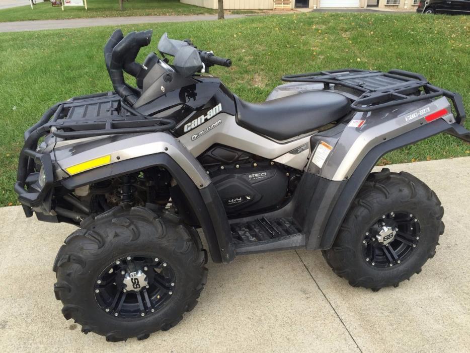 2012 Can-Am OUTLANDER MAX 650