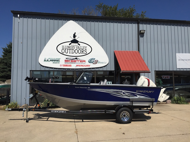 2015 Starcraft Superfisherman 186