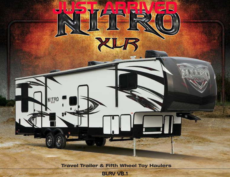2017 Forest River XLR NITRO FIFTH WHEELS 35VL5