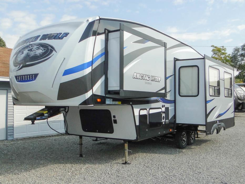 Forest River Wildwood X Lite >> Forest River Arctic Wolf rvs for sale in Ohio
