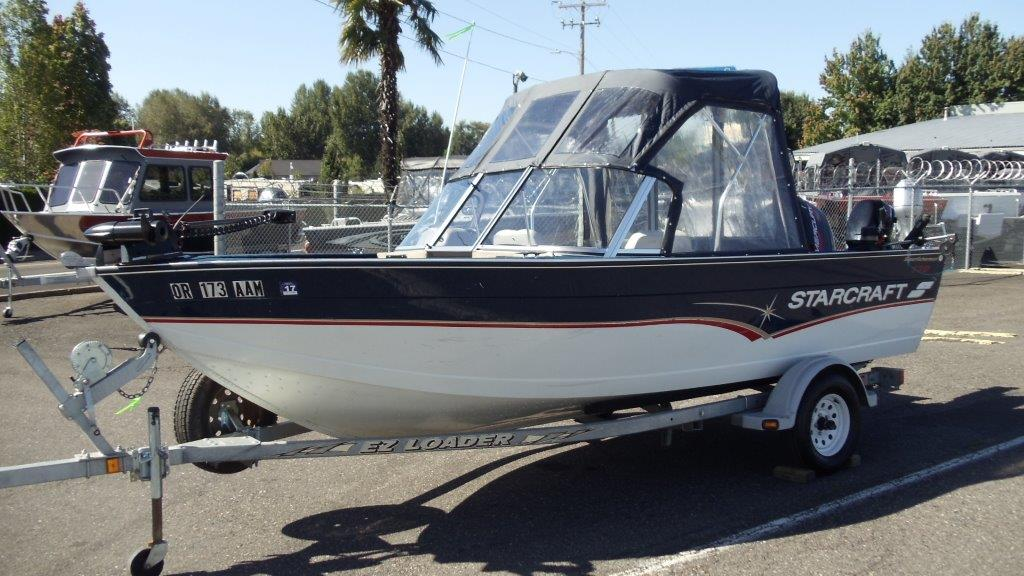 1996 Starcraft SUPERFISHERMAN 170