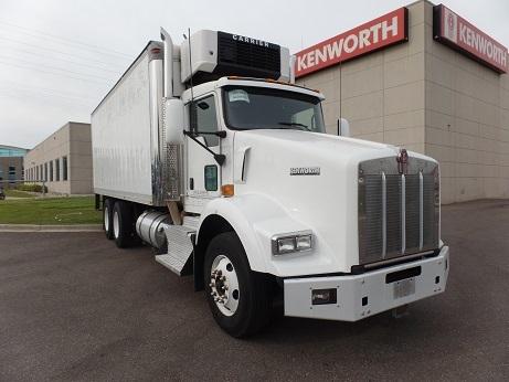 2011 Kenworth T800  Refrigerated Truck