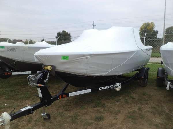 2017 Crestliner 1650 Fish Hawk WT