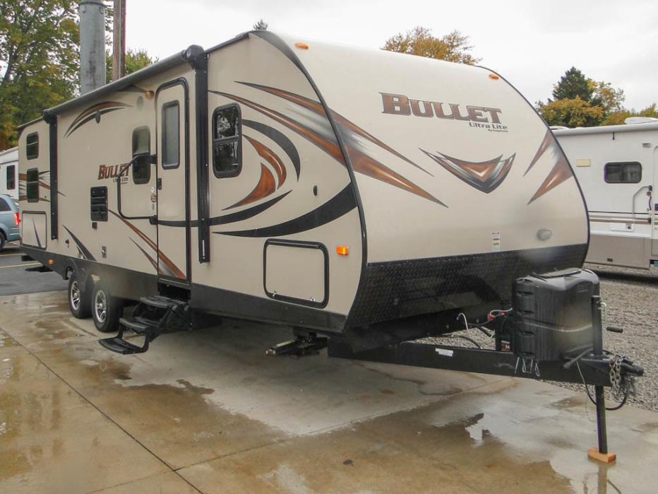 2015 Keystone Bullet 287QBS Bunk House