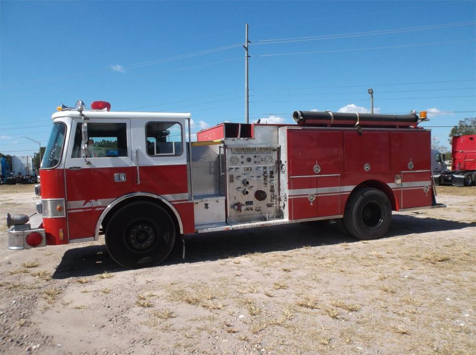 1987 Pierce Dash Fire Truck