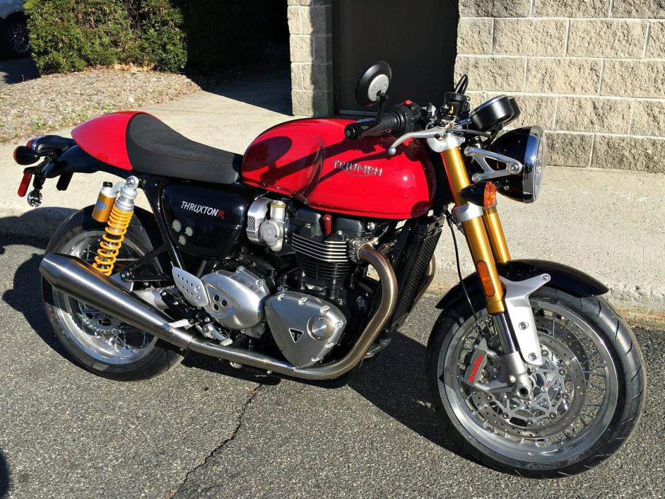 triumph thruxton 1200 r motorcycles for sale in connecticut. Black Bedroom Furniture Sets. Home Design Ideas