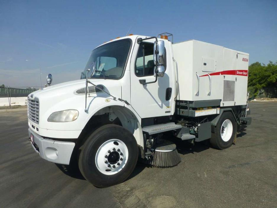 2008 Freightliner M2 Elgin Broom Bear Street Sweeper  Sweeper