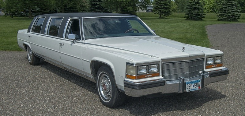 1989 Cadillac Limo Brougham