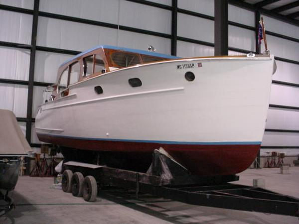 1941 Chris Craft1 Double Cabin Enclosed Cruiser