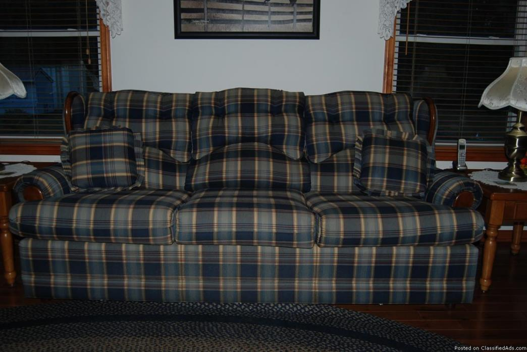 country style sofa 18 months old