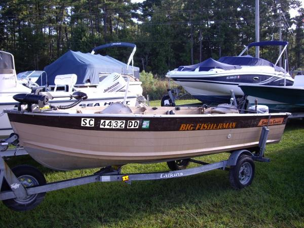 1986 Smoker Craft Big Fisherman 14