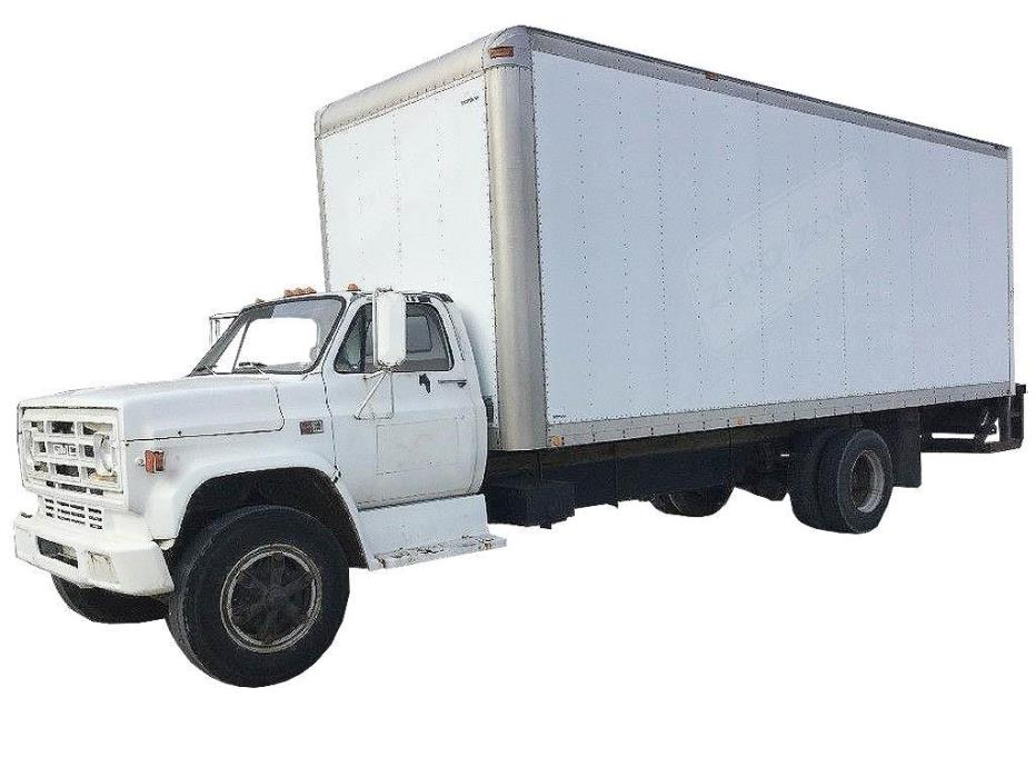 1987 Gmc 7000 Cab Chassis