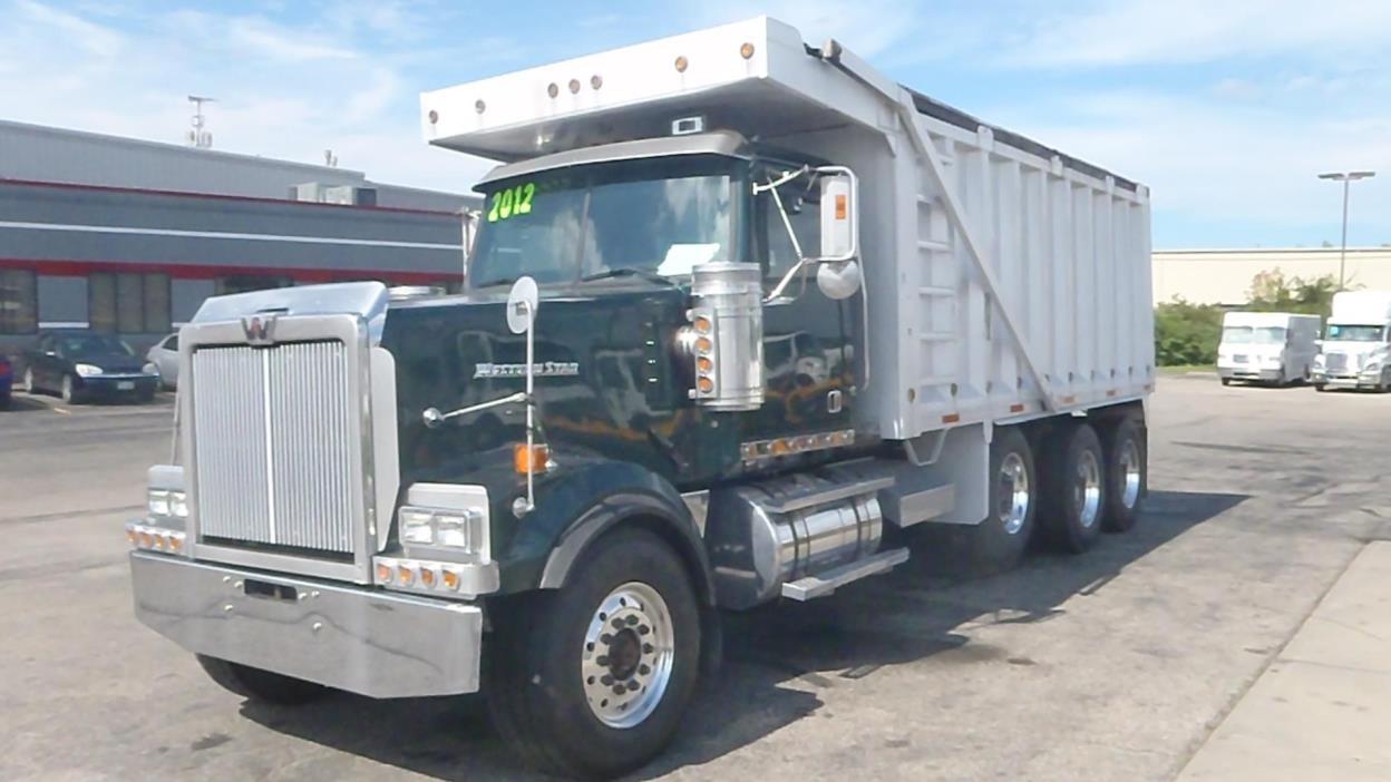 2012 Western Star 4900ex Dump Truck
