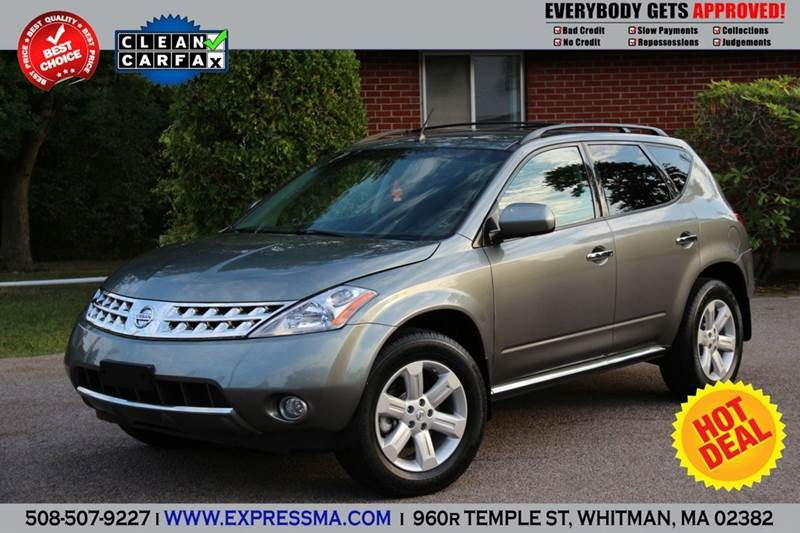 2007 nissan murano suv cars for sale for Nissan motor acceptance online bill pay