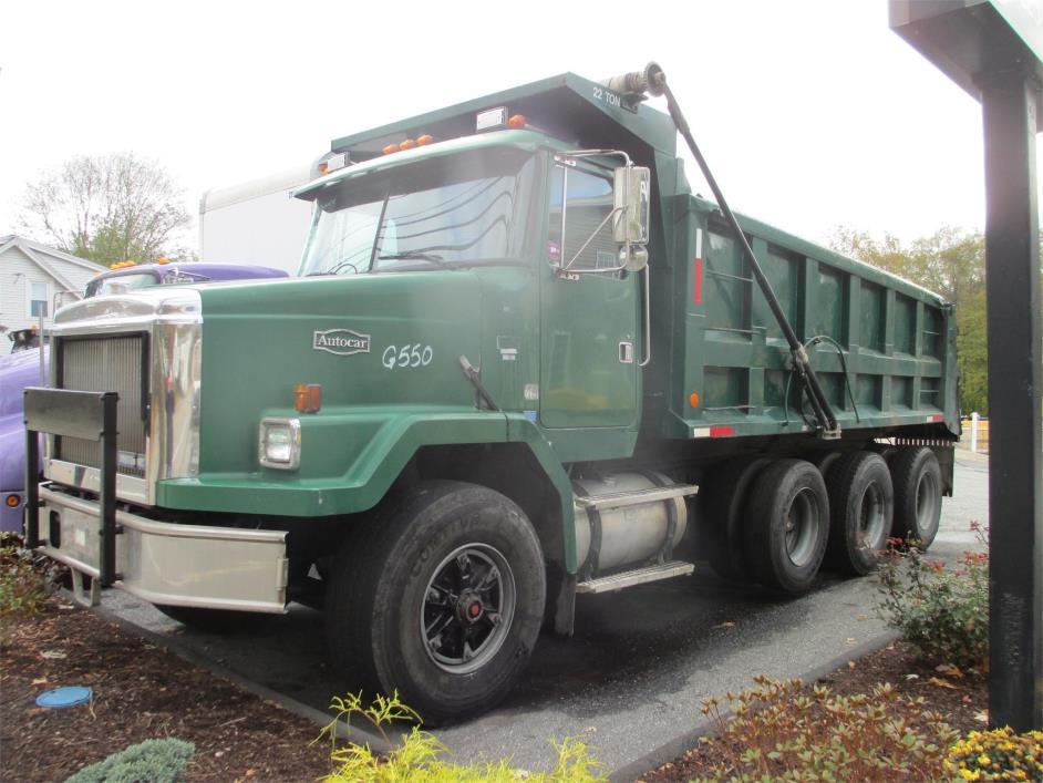 1988 White/Gmc Wcl64t  Dump Truck