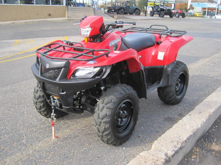 suzuki king quad 750axi 4x4 motorcycles for sale in colorado. Black Bedroom Furniture Sets. Home Design Ideas