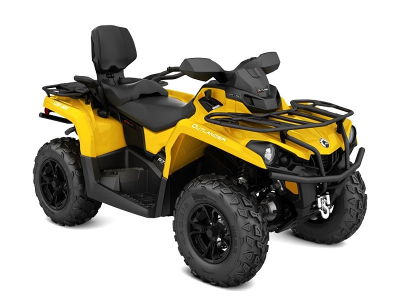can am outlander max xt 570 yellow motorcycles for sale. Black Bedroom Furniture Sets. Home Design Ideas