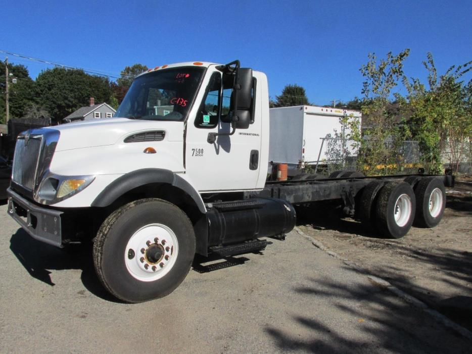 2004 International Workstar 7500  Cab Chassis