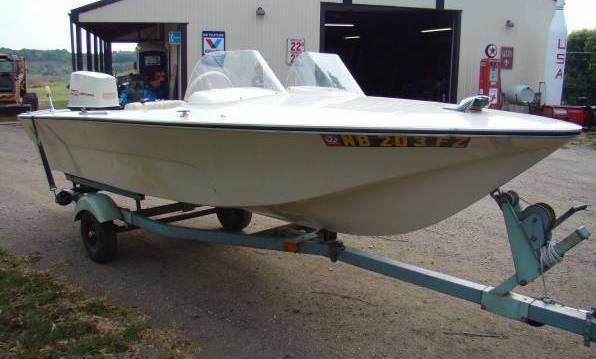 1971 Mustang Speed Boat