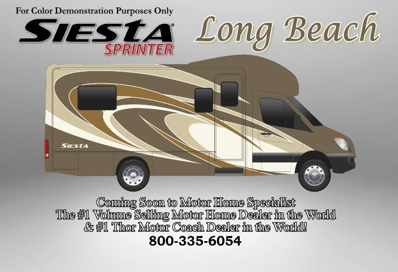 2017  Thor Motor Coach  Four Winds Siesta Sprinter 24SR Diesel S