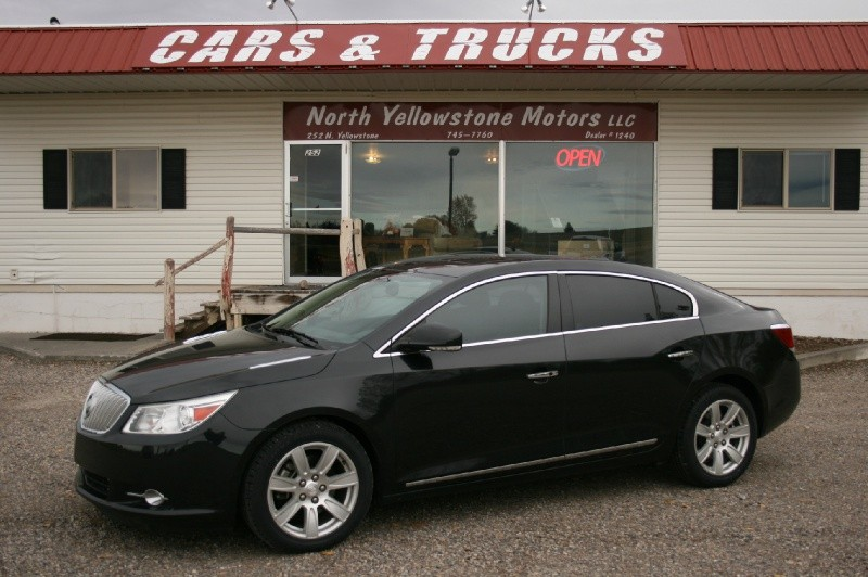 2010 Buick LaCrosse 4dr Sdn CXS FWD