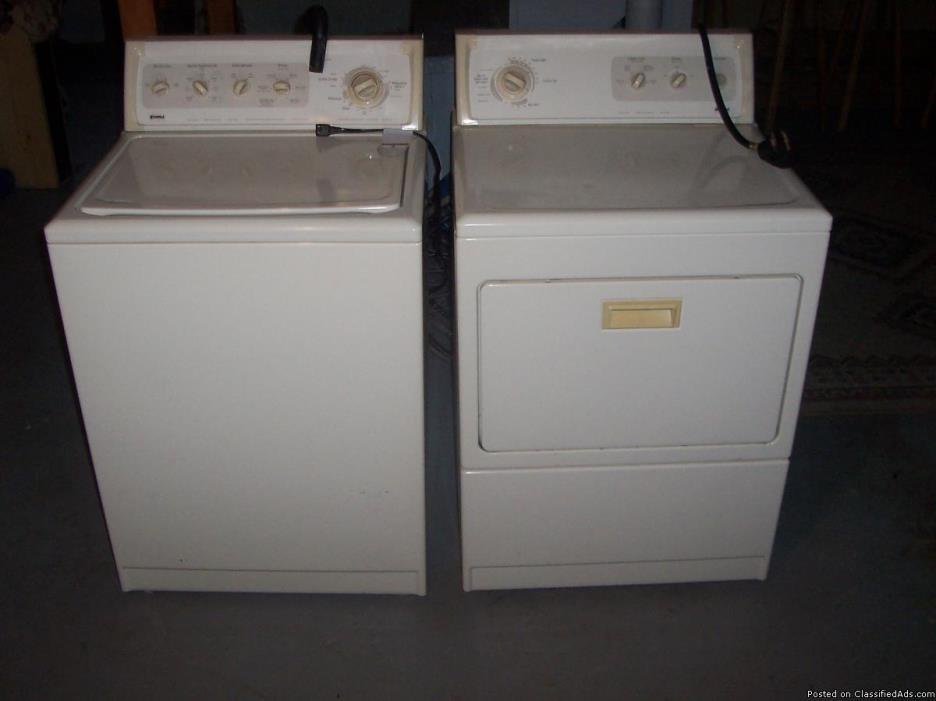 Washer & Dryer matched set