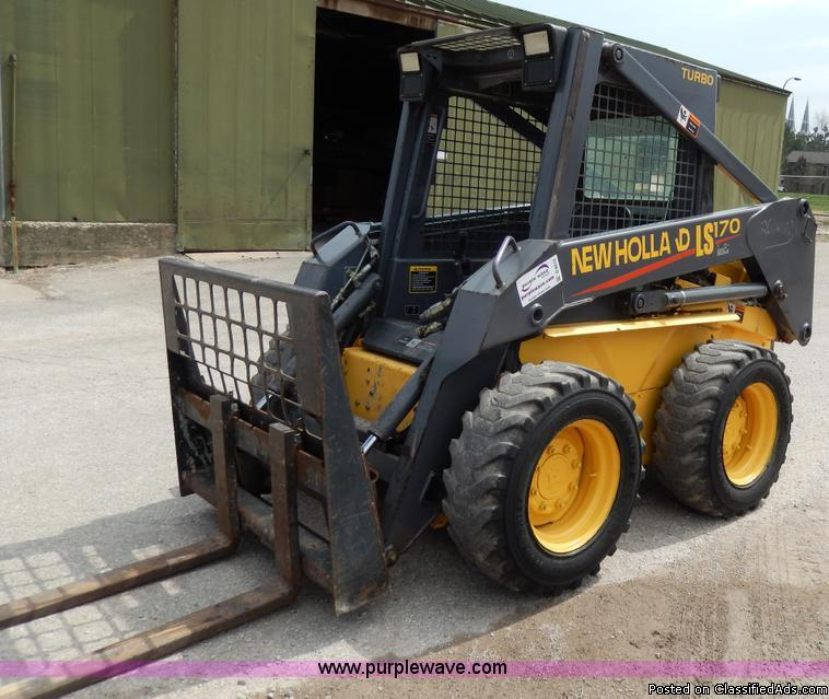 1999 New Holland LS170 Skid Steer For Sale in New Port News, Virginia  23601