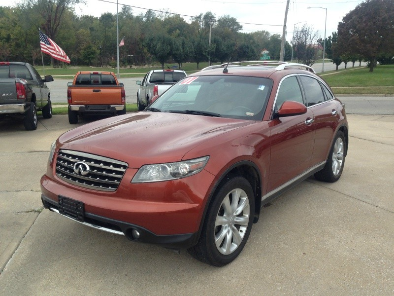 2007 Infiniti FX45 - AWD Luxury - Fully Loaded DVD - Only 75k Miles
