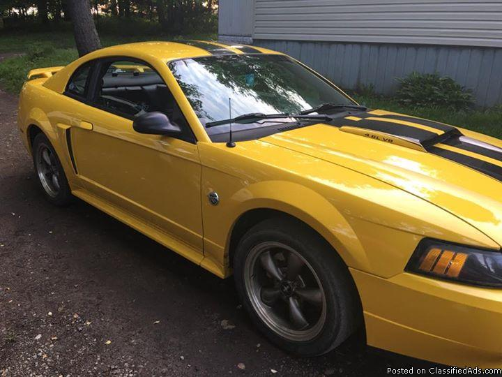2004 ford mustang 40th anniversary edition cars for sale. Black Bedroom Furniture Sets. Home Design Ideas