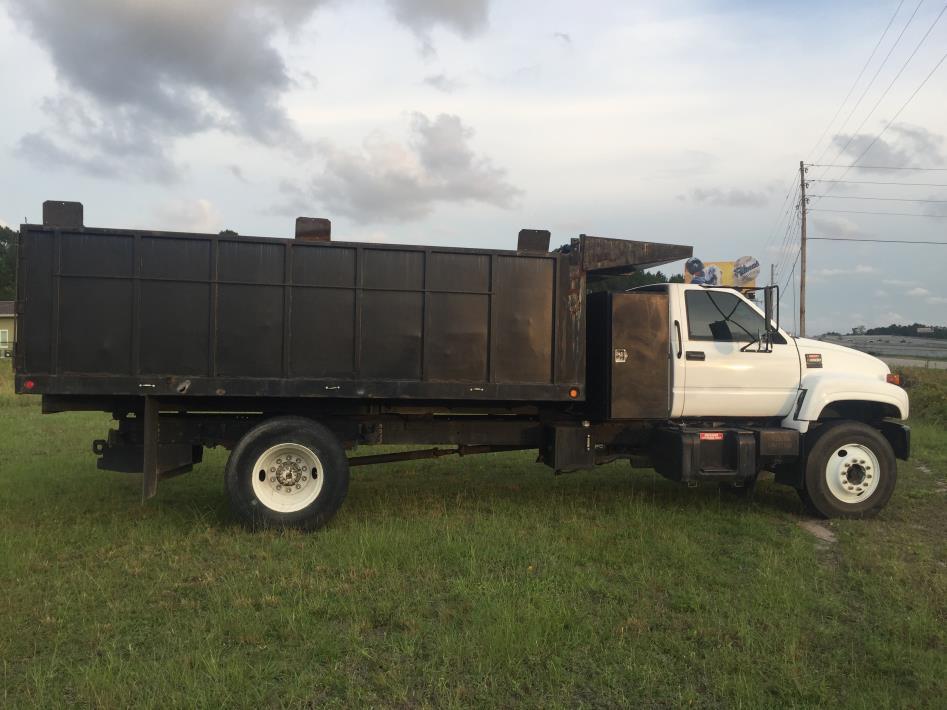 2001 Gmc C6500 Dump Truck