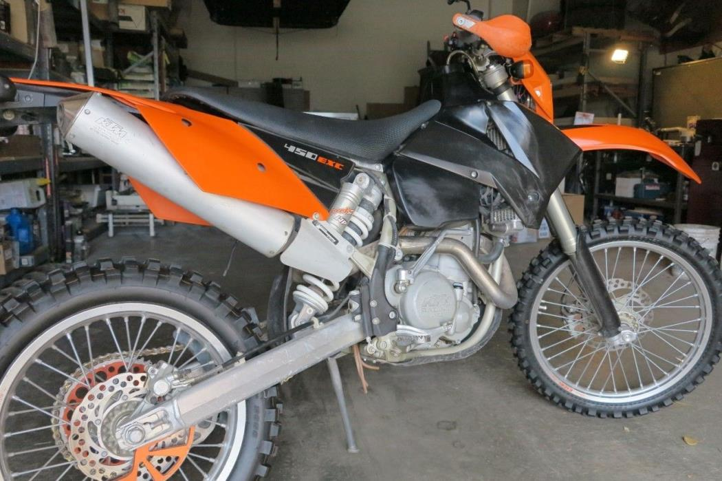 2004 Ktm 450 Sx Motorcycles For Sale