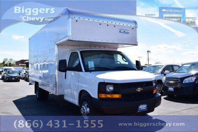 2016 Chevrolet Express Commercial Cutaway  Contractor Truck