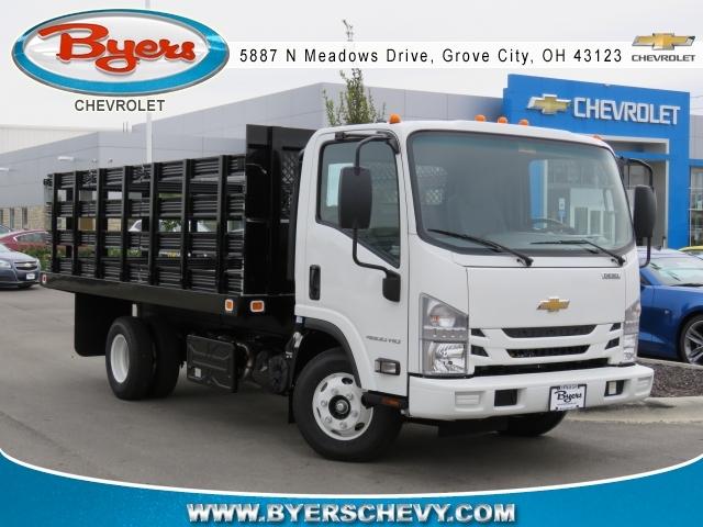 2017 Chevrolet 4500xd Diesel Landscape Truck