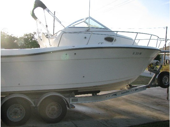 1997 Sportcraft 232 Fishmaster