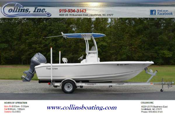 2013 TIDEWATER BOATS 196CC Adventure