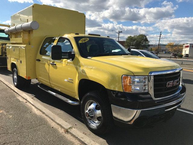 2010 Gmc Sierra K3500 Hd Crewcab Enclosed Utility Utility Truck - Service Truck