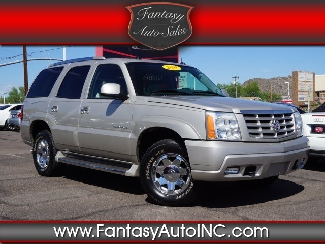 2005 cadillac escalade cars for sale. Black Bedroom Furniture Sets. Home Design Ideas