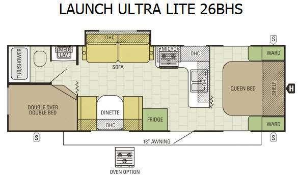 Starcraft Launch Ultra Lite 26BHS