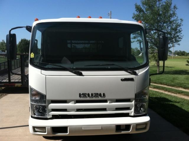 2014 Isuzu Npr Hd Landscape Truck