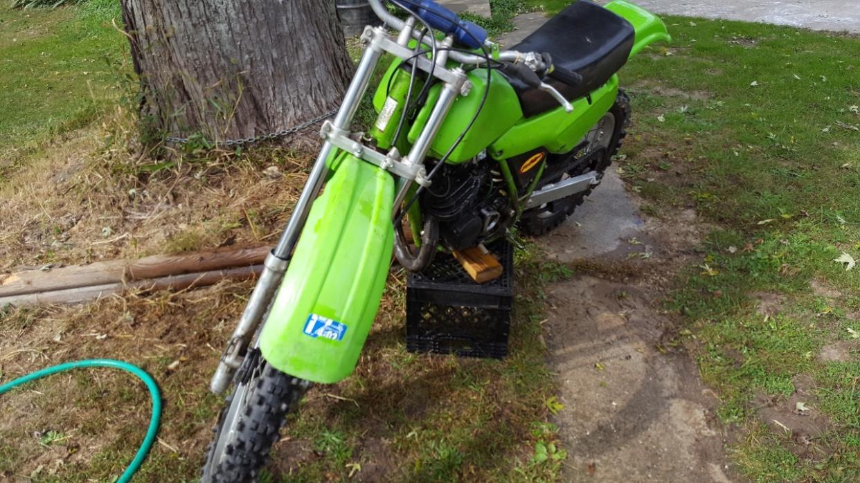 1984 Kawasaki KDX 200
