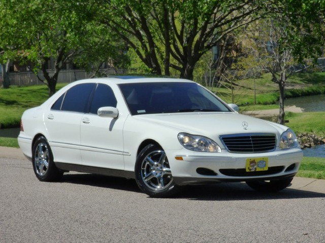 2004 Mercedes-Benz S430 NAVIGATION, HEATED SEATS, BOSE, REAR SHADE