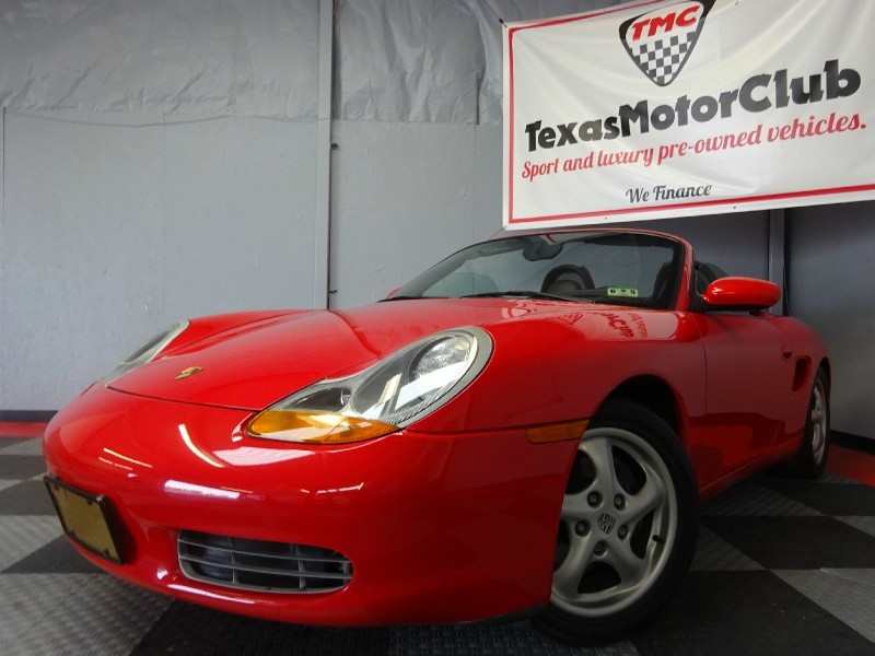 1998 Porsche Boxster Roadster Convertible | CARFAX Certified | Mint Condition