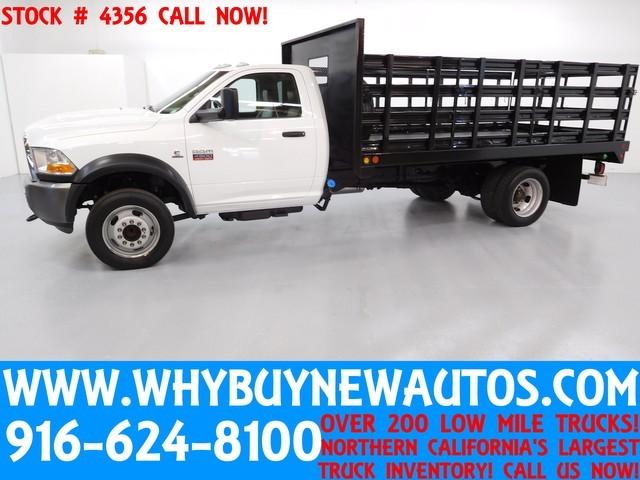 2011 Dodge Ram 4500  Contractor Truck
