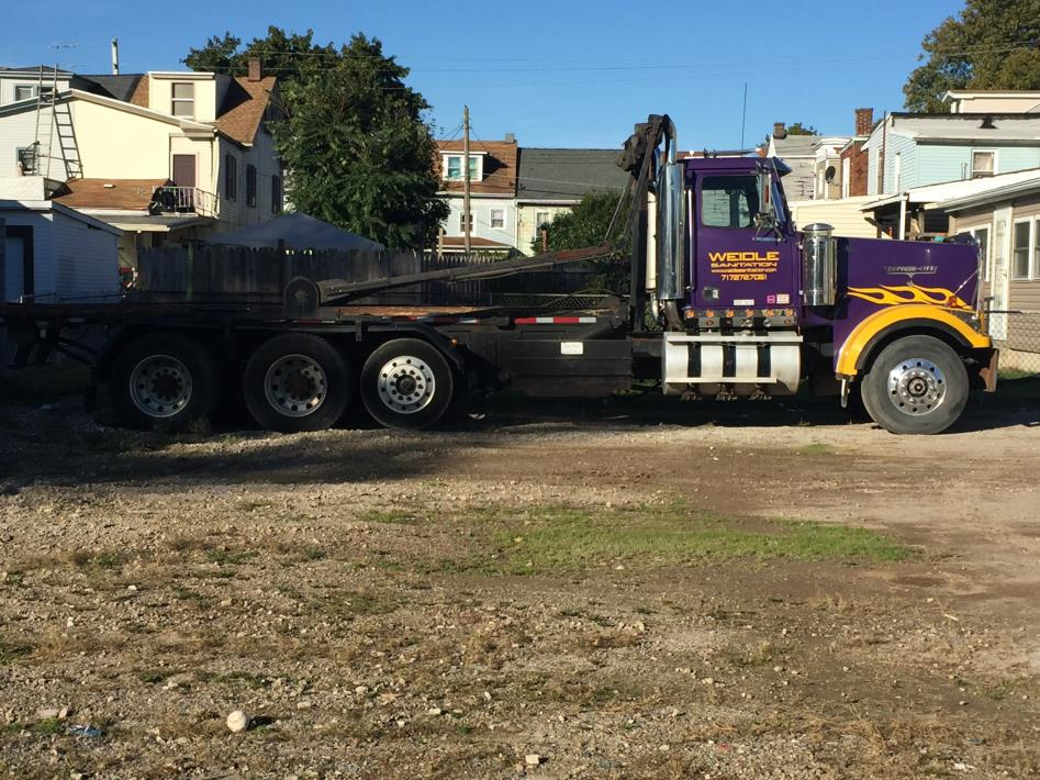 2001 Western Star 4964ex Roll Off Truck