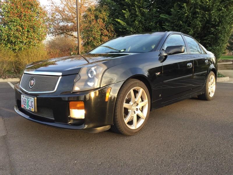 2006 Cadillac CTS-V 4dr Sdn