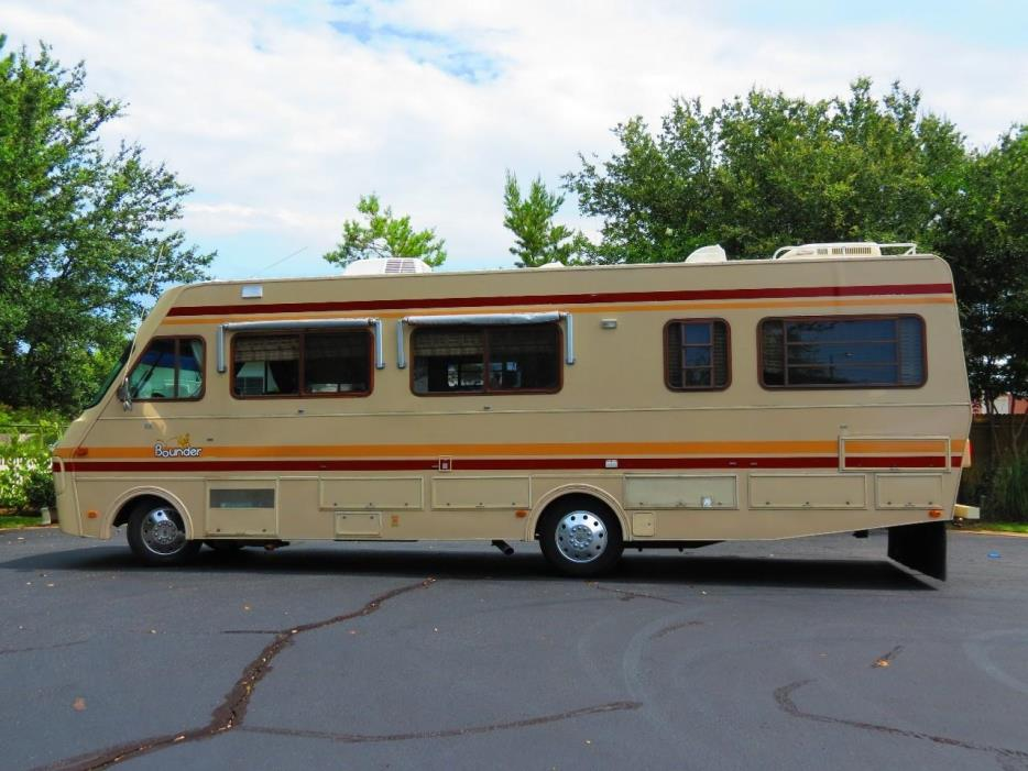 1989 Fleetwood Bounder Rvs For Sale
