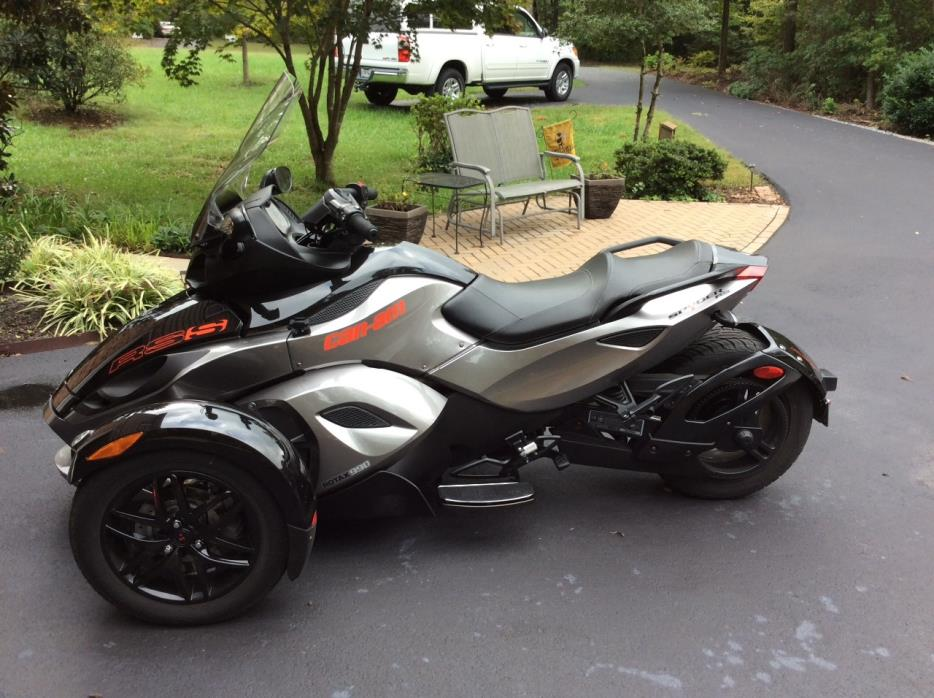 can am spyder rs motorcycles for sale in maryland. Black Bedroom Furniture Sets. Home Design Ideas