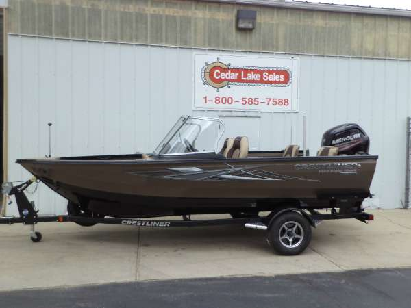 2017 Crestliner 1650 SUPER HAWK WT